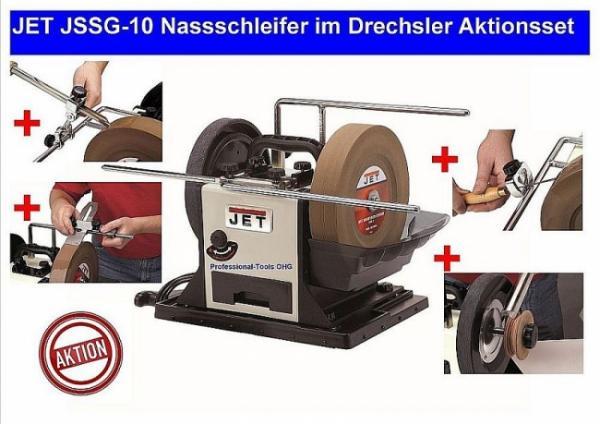 JET JSSG-10 Nassschleifer im Drechsler Aktionsset