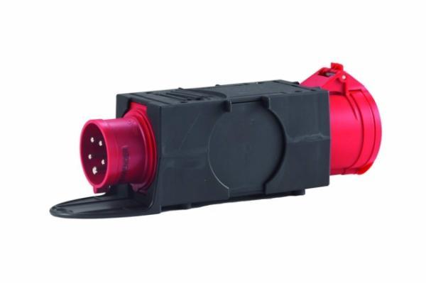 HEDI Drehstrom-Adapterstecker, von CEE 5x16A auf CEE 5x32A AK1632F