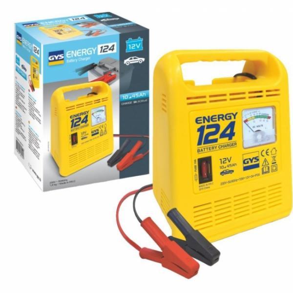 GYS Batterieladegerät ENERGY 124 - 12V - 3A (4,5A effektiv)