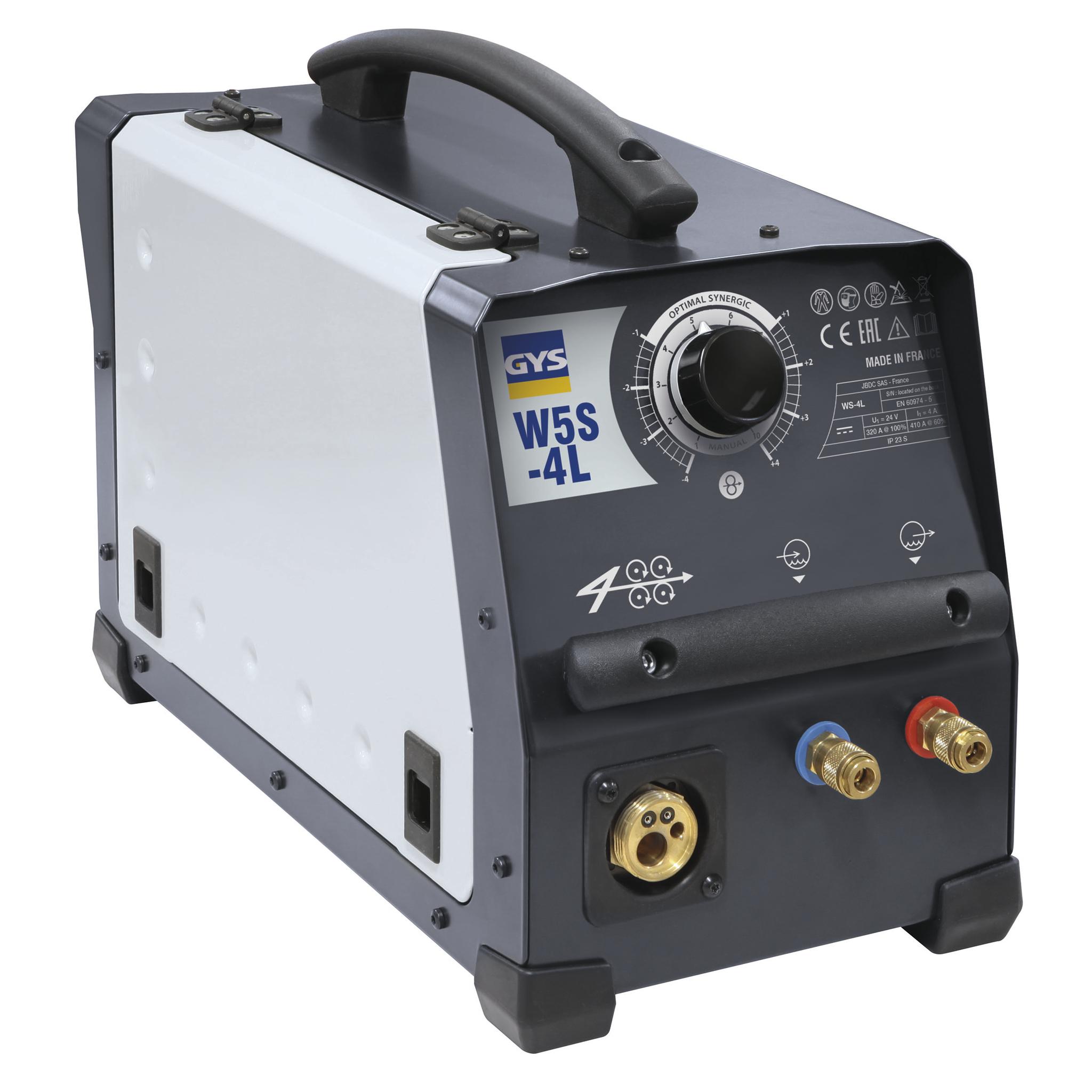 GYS Drahtvorschubkoffer EXAFEED-4L - luftgekühlt/wassergekühlt – für EXAGON 032408