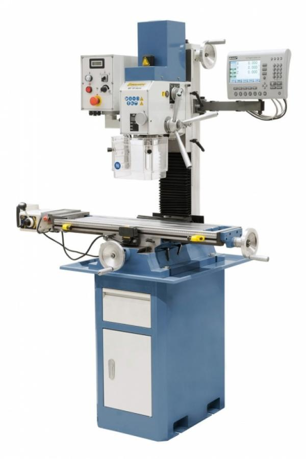 Bohr- und Fräsmaschinen BF 35 Vario mit Vorschub inkl. 3-Achs-Digitalanzeige