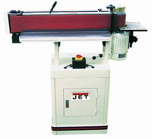 JET EHVS-80-T Kantenschleifmaschine 400V 708449T inkl. Zubehör