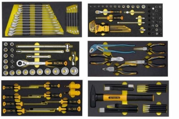 ELORA WS OMS-2 Werkzeugsortiment 128 teilig