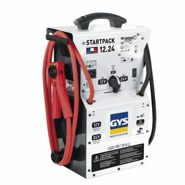 GYS 026285 Starthilfegerät Booster Profi STARTPACK 12.24 - 12/24V