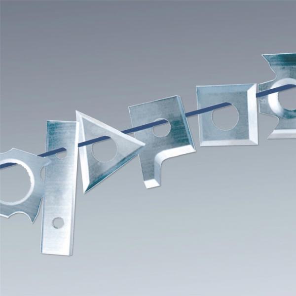 Barke Hartmetallmesser für JET JPT-310HH und 410HH