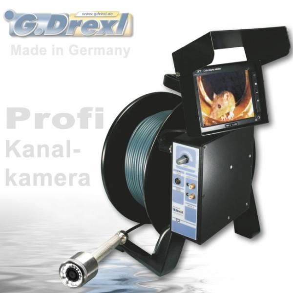 Drexl Kanalkamera MINI 3110 Color, bis 4 Bar wasserdicht