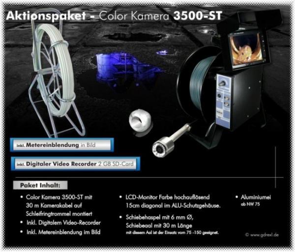 Drexl Kanalkamera Color-Kamera 3500-ST