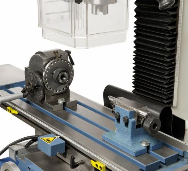Bohr- und Fräsmaschinen KF 25 Pro mit Vorschub inkl. 3-Achs-Digitalanzeige