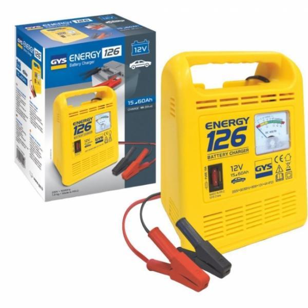 GYS Batterieladegerät ENERGY 126 - 12V - 4A (6A effektiv)