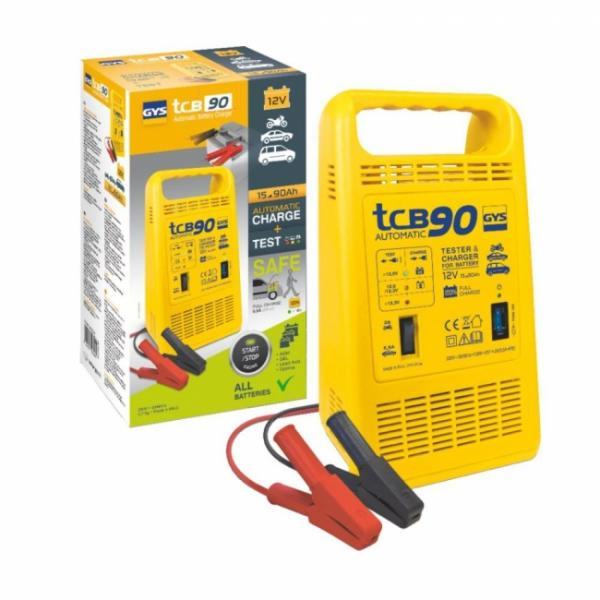 GYS Batterieladegerät TCB 90 automatisch - 12V - 2/5,5A (8A effektiv)