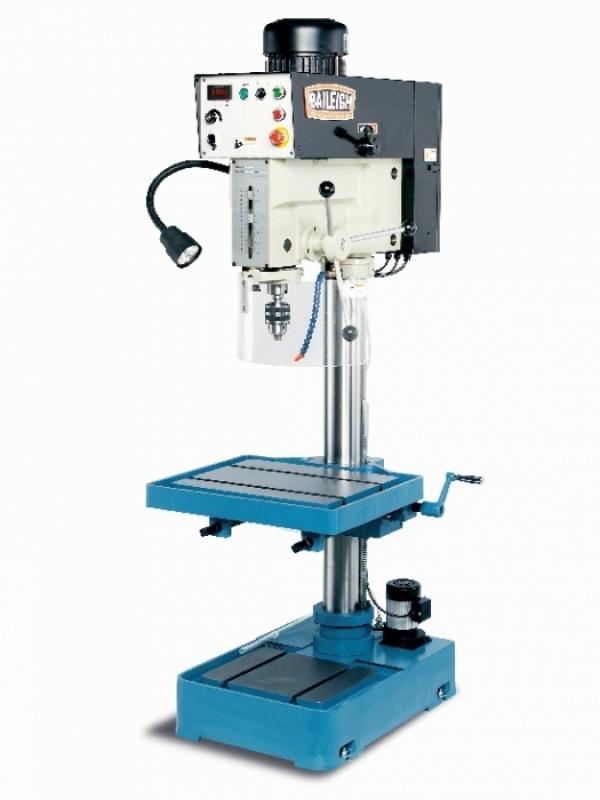 Baileigh DP-1250VS Säulenbohrmaschine regelb. Drehzahl + Digitalanzeige