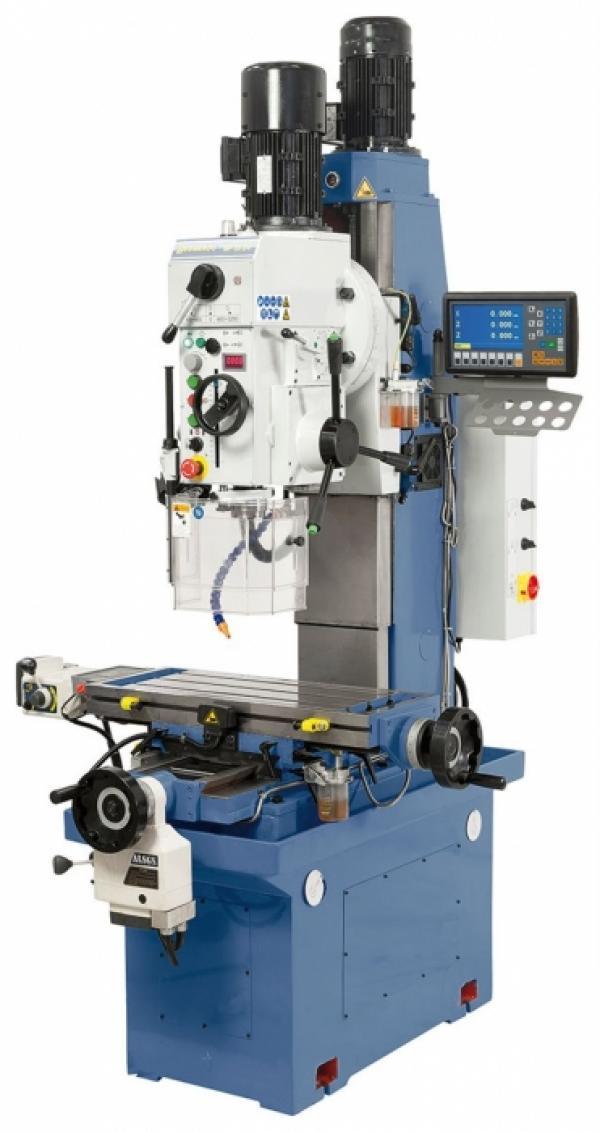 Bohr- und Fräsmaschinen BF 35 DV inkl. 2-Achs-Digitalanzeige
