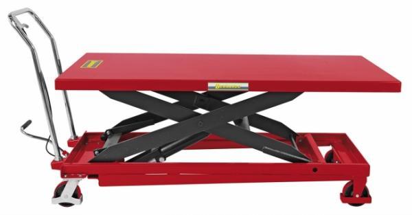 Hydraulik-Scherenhubtische mit großer Tischplatte TG 1000