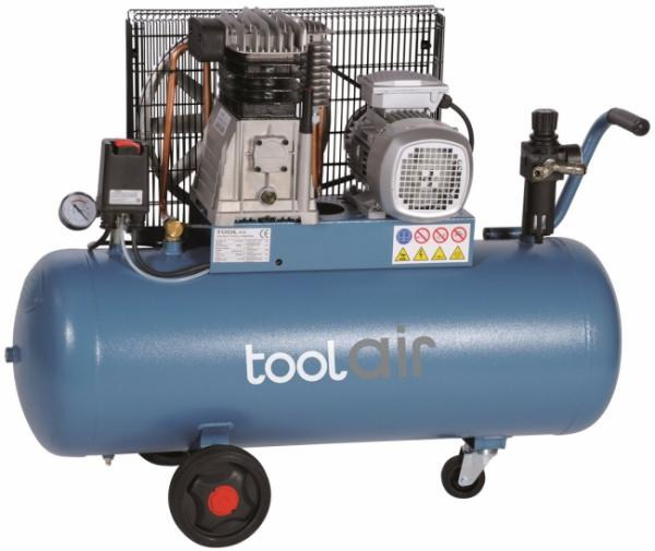 toolair C-100-450A Kompressor 100 Liter / 400 Volt