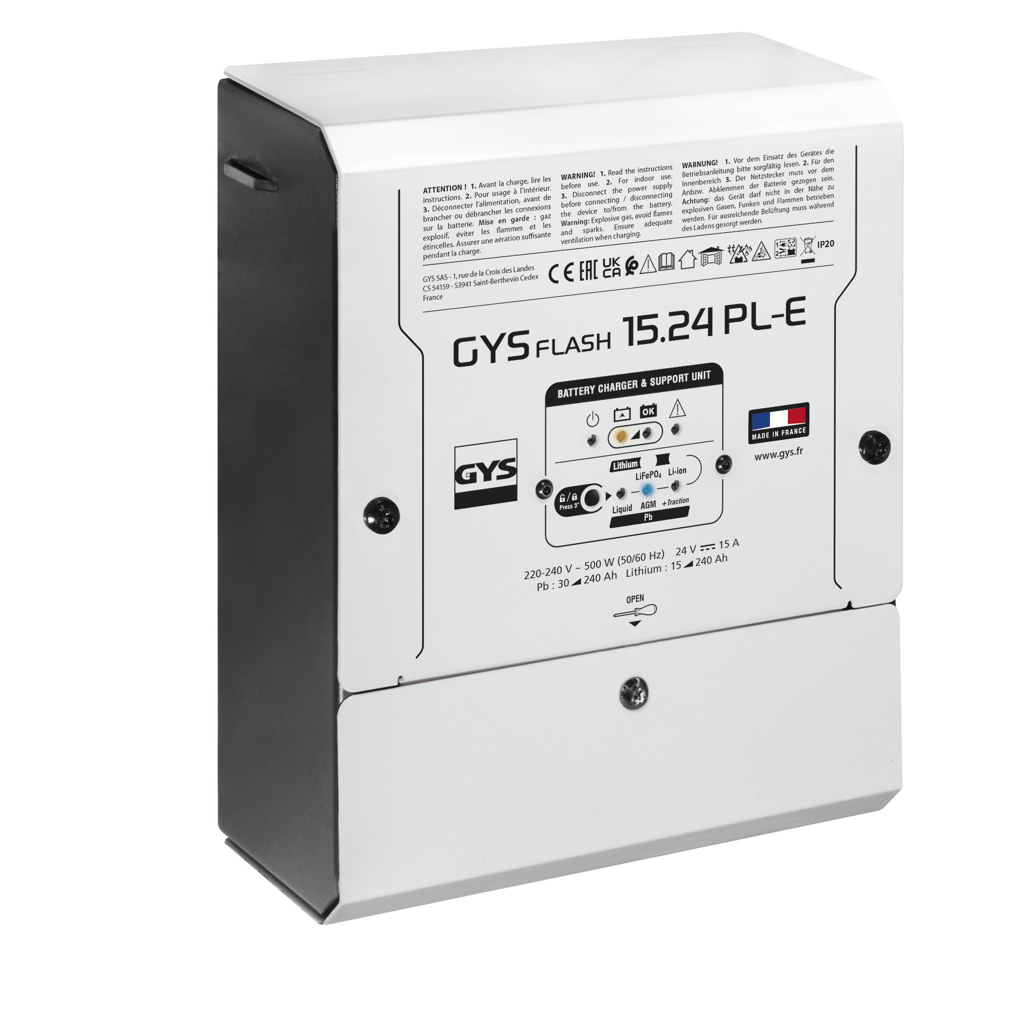 GYS Batterie-Ladegerät GYSFLASH 15.24 PL-E 025943