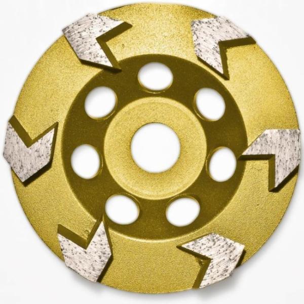 Roll  Diamantscheibe Gold 125mm Art-Nr 1716463
