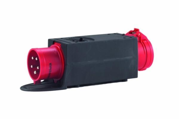 HEDI Drehstrom-Adapterstecker, von CEE 5x32A auf CEE 5x16A AK3216F