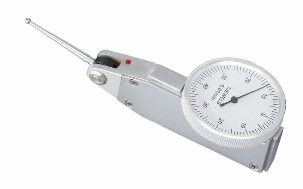 Zubehör für Bohrmaschinen Präzisions-Fühlhebelmessgerät 0 - 0,8 x 0,01 mm mit langem Messtaster