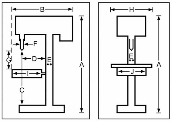 Promac 212VLB Tischbohrmaschine 230V