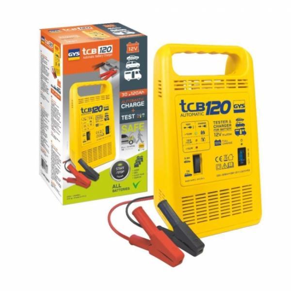 GYS Batterieladegerät TCB 120 automatisch - 12V - 3,5/7A (10,5A effektiv)