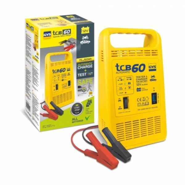 GYS Batterieladegerät TCB 60 automatisch - 12V - 2/4A (6A effektiv)